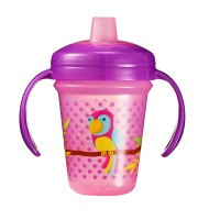 THE FIRST YEARS Stackable 7oz Soft Spout Trainer Cup - Parrot