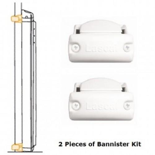 LASCAL Kiddyguard Accent/Avant Bannister Installation Kit, Housing ...