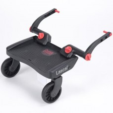 LASCAL Buggy Board Mini 3D 6-P Red