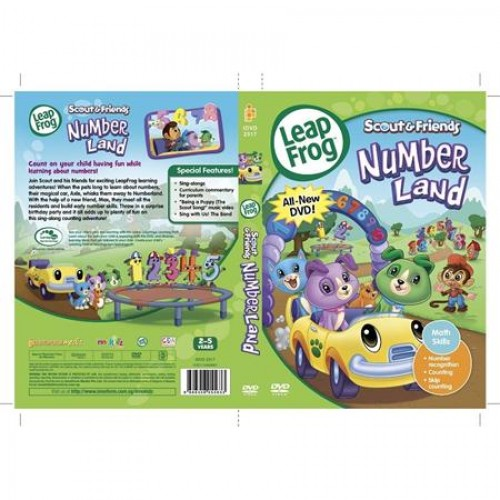 Leapfrog Dvd Scout Amp Friends Number Land