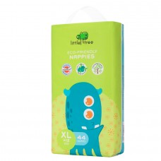 LITTLE TREE Eco-Friendly Nappies, Monster ADXL44 (44pcs)
