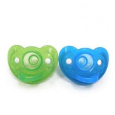 THE FIRST YEARS Gumdrop Infant Pacifier 2Pk(Blue/Green)