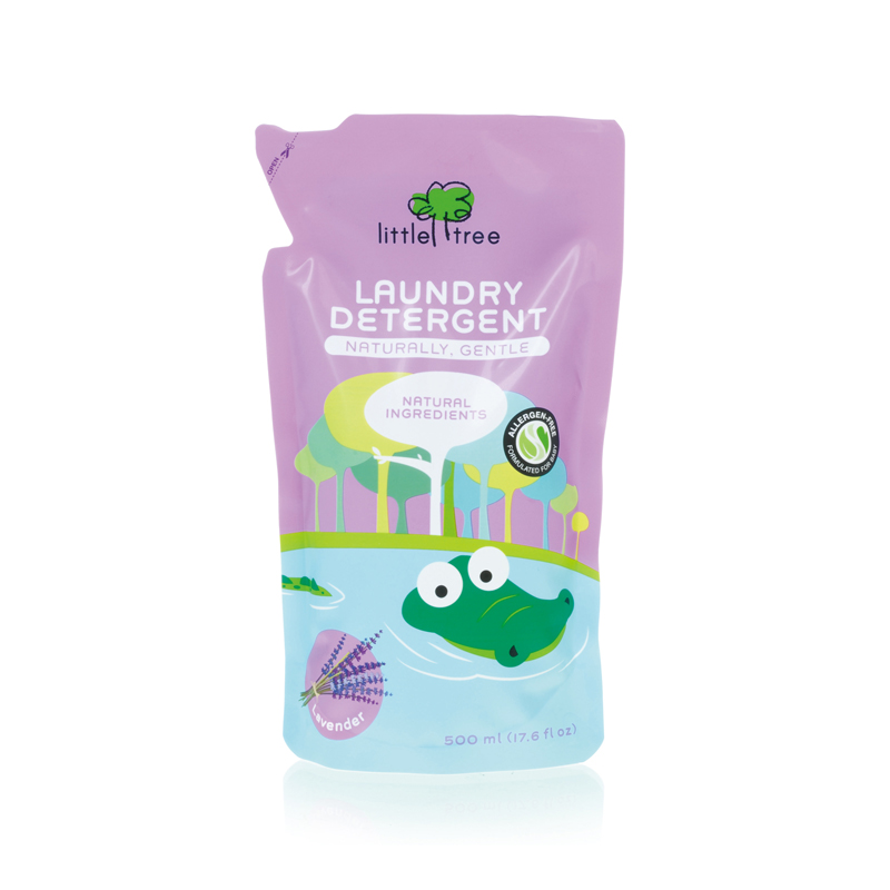LITTLE TREE Baby Laundry Detergent Refill Pack (Lavender, 500ml)
