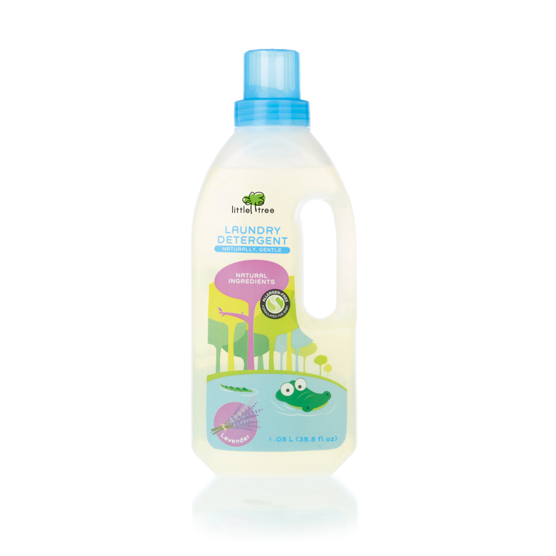 LITTLE TREE Baby Laundry Detergent (Lavender, 1050ml)