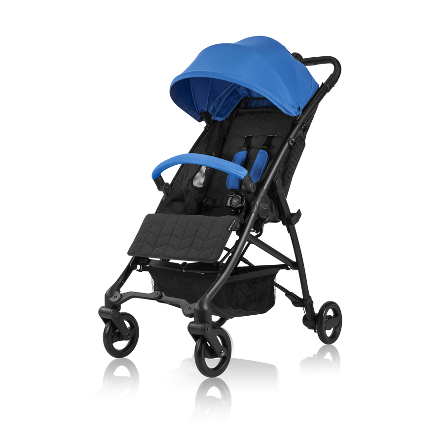 BRITAX Light Deluxe Stroller - Olympia Blue