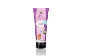 LITTLE TREE Fruity Fresh Toothpaste: Grape (70ml) 12+months